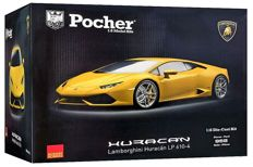 Pocher - Scale 1/8 - Lamborghini Huracan LP610-4 2014 - Pearl Effect Yellow