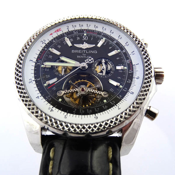 Breitling Bentley Mulinner Tourbillon Chronograph