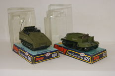 Dinky Toys - Scale 1/48 - Bren Gun Carrier No.622 and Scorpion Tank No.690