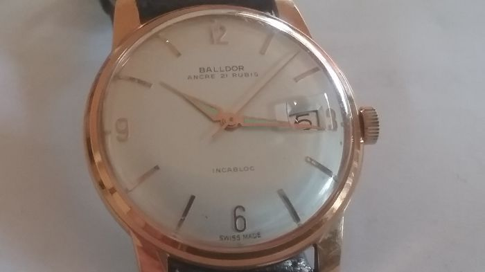 Balldor 1960s men's wristwatch N.O.S.