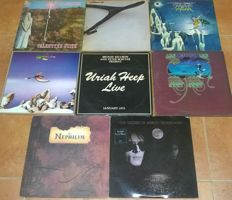 Prog/Psychedelic/Goth rock collection altogether 12 records