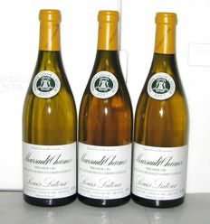 2007 Meursault 1° Cru Charmes, Louis Latour – Lot of 3 bottles