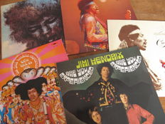 Nice Lot with 5 great Albums of Jimi Hendrix