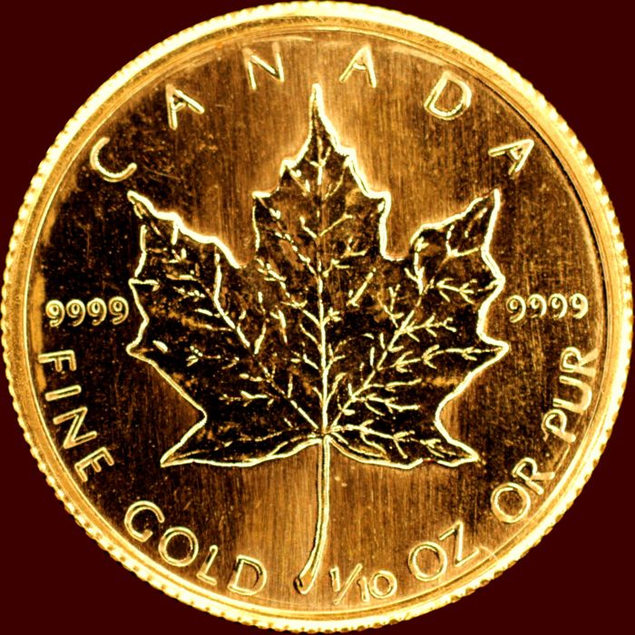 Canada - 5 Dollar 1982 'Maple Leaf' - Elizabeth II - Gold