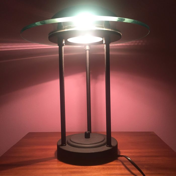 SMC halogen table lamp with dimmer, 2nd half of 20th century, Netherlands