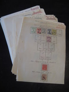 British India, Australia, Pakistan and Mongolia - Collection of stamps.