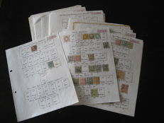 Turkey and Nepal 1875-1967 - Collection of stamps.