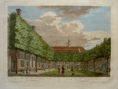 Amsterdam; P. Fouquet - Lot consist of 2 cityscapes in very good condition - ca. 1790