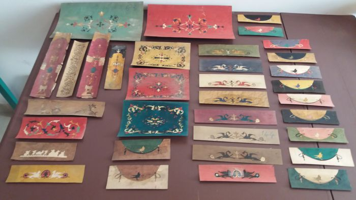 Antique wood inlays, Sorrento, 1930s