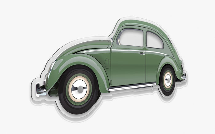 Halmo Collection VW BEETLE plexiglass model