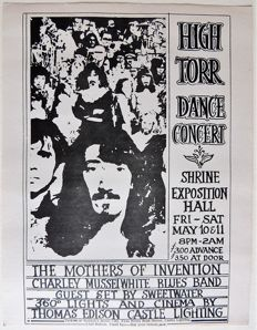 "FREAK OUT Rare psychedelic  ""FRANK ZAPPA"" Dance Concert San Francisco 1968"