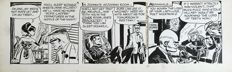 Frank Robbins - Original Comic Strip - Johnny Hazard - (1967)