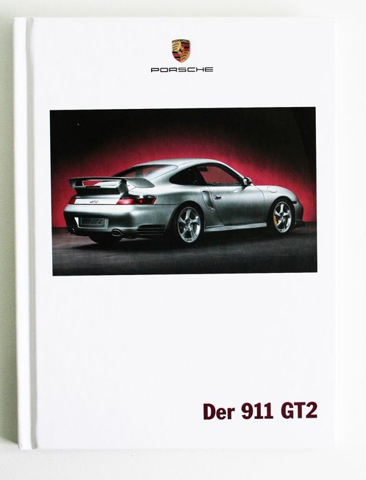 2002 porsche 911 gt2 996 brochure 2 press photos catawiki. Black Bedroom Furniture Sets. Home Design Ideas