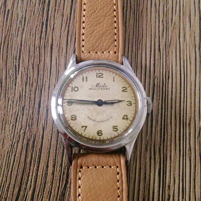 Mido Multifort – Vintage Men's Watch – 1950