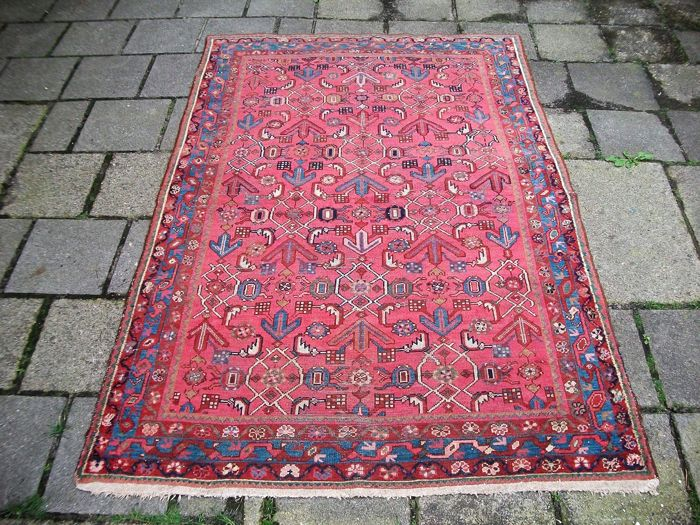 Hand-knotted semi antique Persian carpet Lilian - 192x128 - Iran - Around 1940