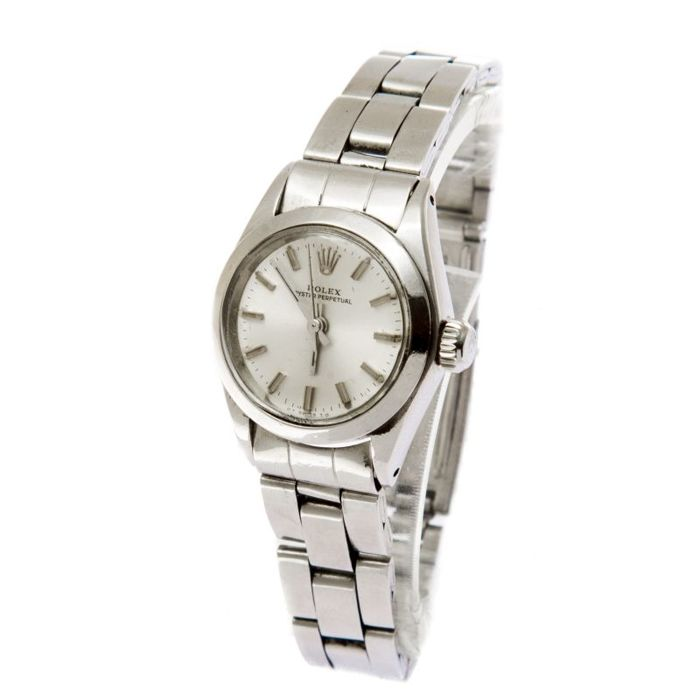 Rolex Oyster Perpetual Lady 26 mm steel -women watch