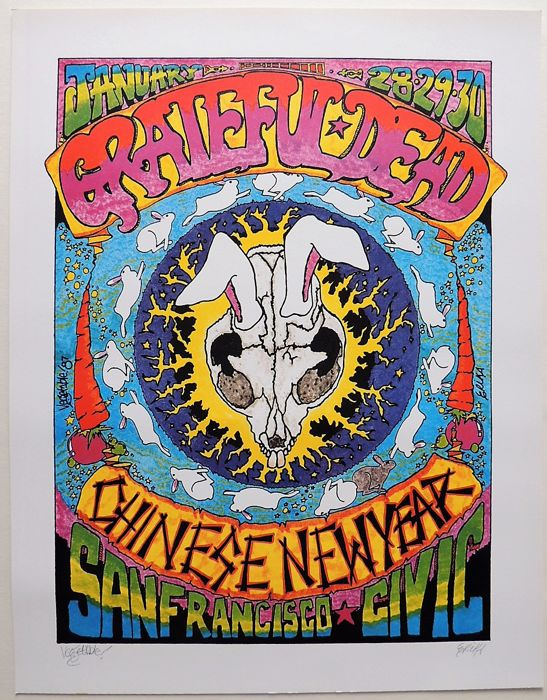Chinese New Year Dance Concert 1987 Grateful Dead USA