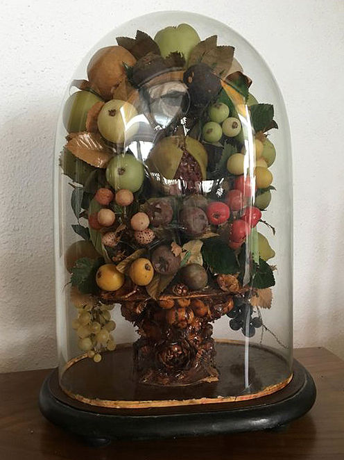 Bouquet of wax fruit - Isabelline - Seasons of the Year - around 1880. France