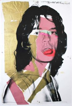 Andy Warhol (after) - Mick Jagger (1975) - 2010