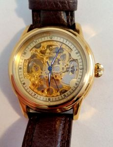 Constantin Weisz  Skeleton – men's wristwatch - 2016 - like new