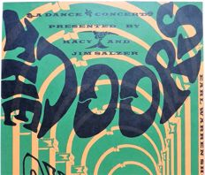 Summer of Love DOORS Concert Poster 1967