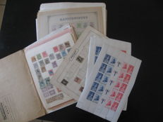 World 1850/1980 - Large loose collection of stamps including France, Great Britain, Spain and Japan