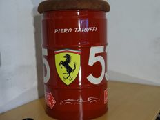 Ferrari Mille Miglia NR.535 replica airbrushed 60 liter oil barrel seat
