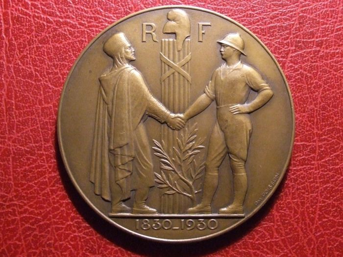 Algeria (colony) – Medal 'Centenaire de l'Algerie 1930' by P.-M. Poisson – Bronze