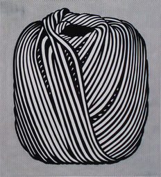 Roy Lichtenstein (nach) - Ball of Twine