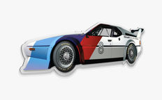 Halmo Collection Bmw M1 Procar plexiglass model