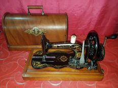 Antique Singer 12k fiddle base sewing machine from 1880