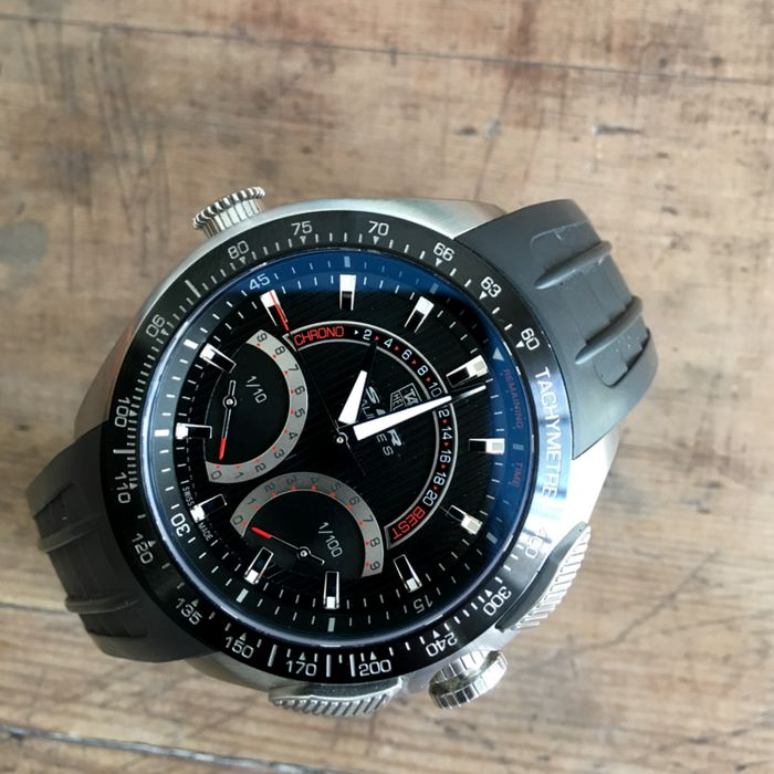 Tag heuer slr mercedes benz limited edition ref cag7010 for Tag heuer mercedes benz slr