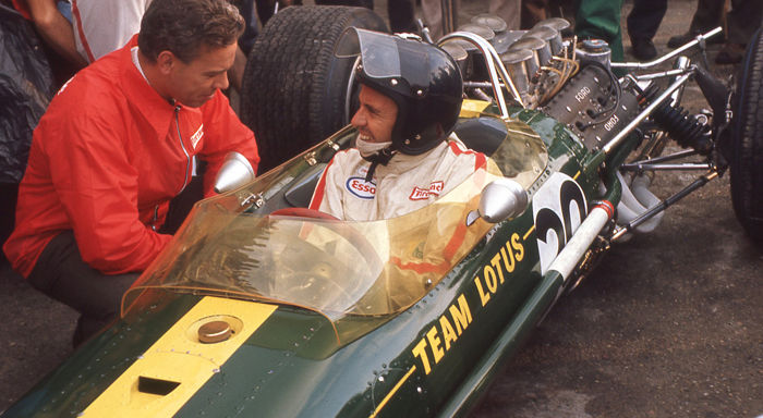 fotografia -  Jim clark Team Lotus and Keith Duckworth in the Pits.   - 2016-2016 (1 oggetti)