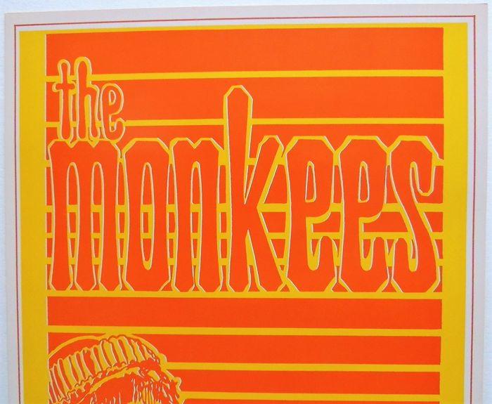 Summer of Love MONKEES psychedelic Head Shop Poster 1967
