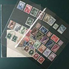 Belgium 1926/1932 – selection including block 2 and large Montenez, among others – OBP 237/355
