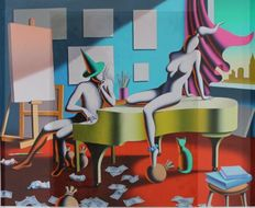 Mark Kostabi - All the right notes