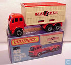 Model cars - Matchbox - Mercedes Container Truck