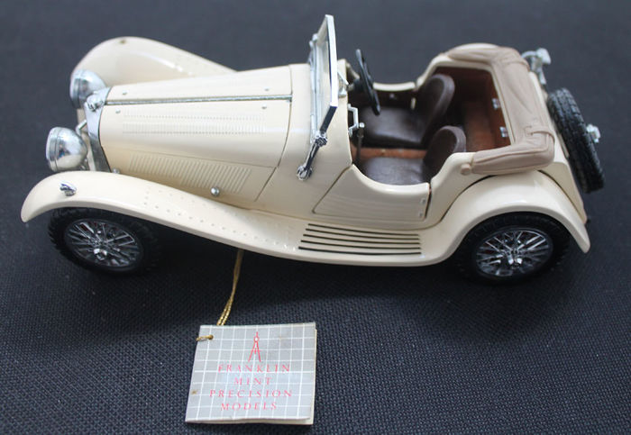 Franklin Mint - 1938 Jaguar SS-100 - 1:24