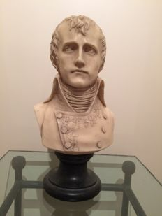 Napoleon Bonaparte - bust on pedestal