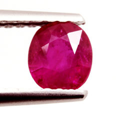 Ruby – 0.67 ct – No Reserve Price