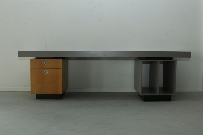 Designer unknown – large designer desk from the Guy Sarlemijn studio.