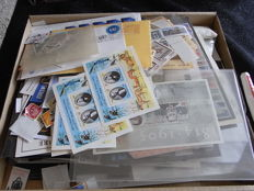 World - large box of envelopes, cards, bags and remnants