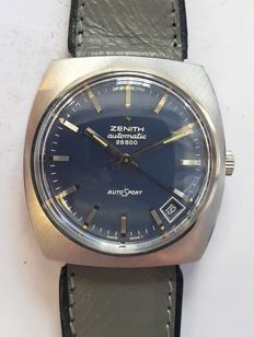 Vintage wrist watch Zenith 28800, AutoSport - Switserland around 1970s