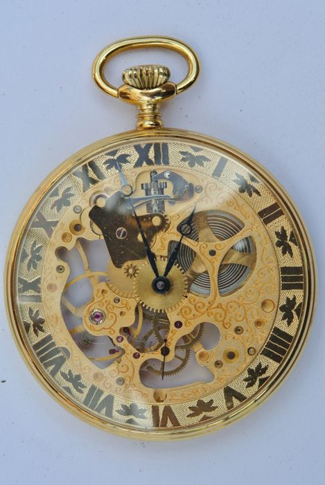 Aéro Watch Neuchâtel -- Men's pocket watch