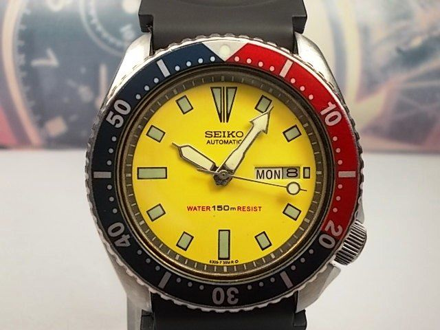 Seiko Scuba Divers Gents Wrist Watch - model no. 6309-729A c.June 1986