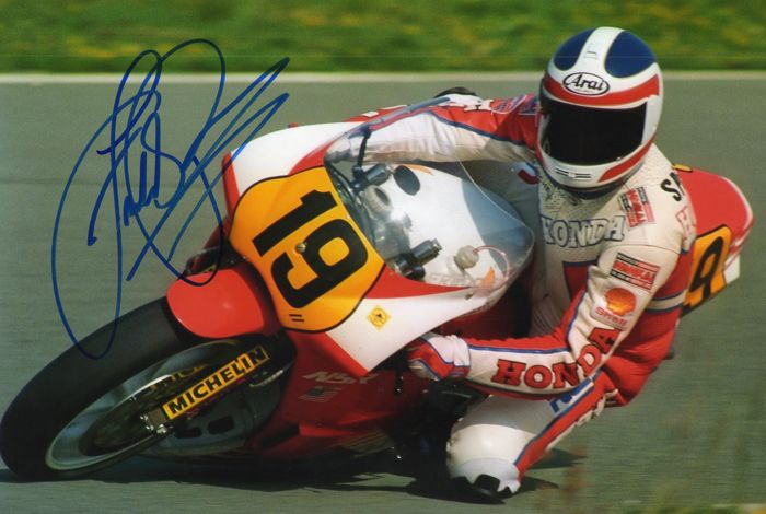 Freddie Spencer USA original autograph 20x30