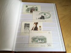 Spain 1989–2009 – Collection of 50 official luxury proofs