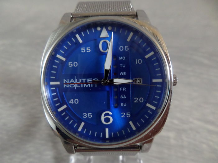 Nautec No Limit Vanguard 2 – 125718 – men's wristwatch – new – 2017
