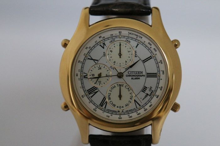 Citizen - New Old Stock - 6850 - Y63224 - Mænd - 1980-1989