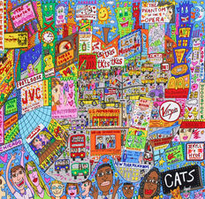 James Rizzi - The Big Apple Is Big On Broadway